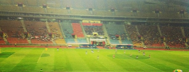 Stadium Shah Alam is one of Attraction Places to Visit.