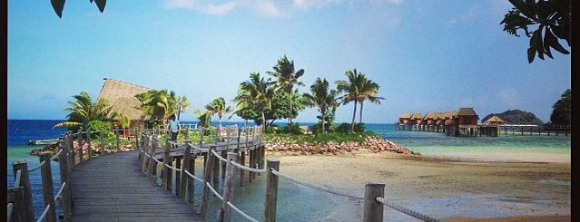 Liku Liku Lagoon Resort is one of WORLDS BEST HOTELS..