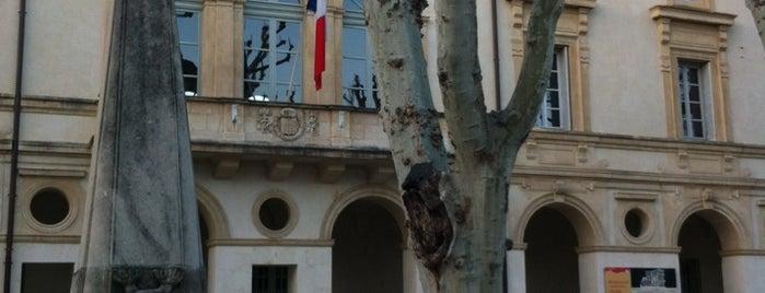 Saint-Rémy-de-Provence is one of Provence adresses.