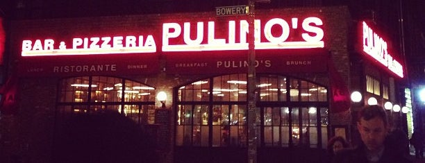 Pulino's is one of NYC Restaurants With Outdoor Seating.