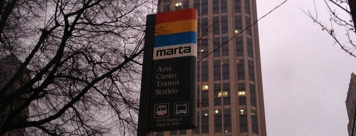 MARTA - Arts Center Station is one of Georgia.