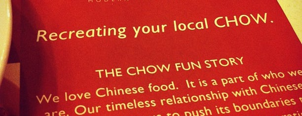 Chow Fun Modern Chinese Bistro is one of Jet: сохраненные места.