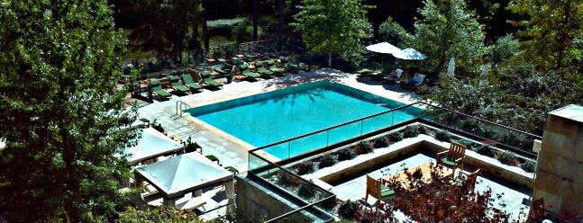 The Umstead Hotel and Spa is one of Raleigh/Durham.