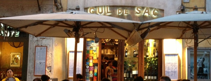 Cul de Sac is one of Italy !.
