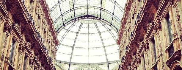 Galleria Vittorio Emanuele II is one of Italia.