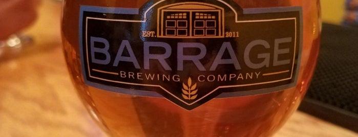 Barrage Brewing Company LLC is one of สถานที่ที่บันทึกไว้ของ Tim.