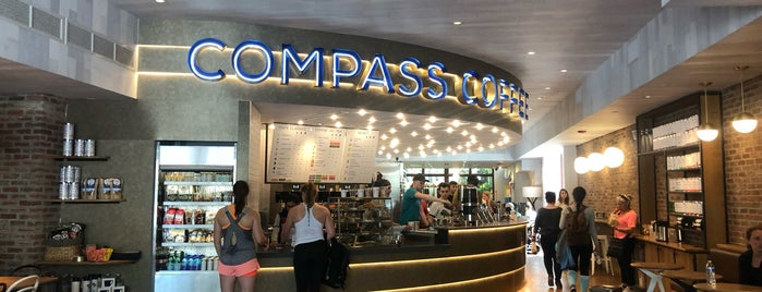 Compass Coffee is one of New: DC 2019 🆕.