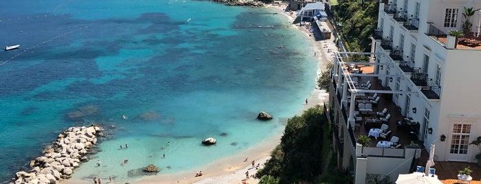 Spiaggia di Marina Grande is one of Italia: south.