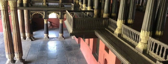 Tipu's Summer Palace is one of Bangalore.