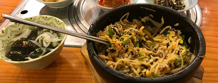 유할머니 비빔밥 (Grandma Yu's Bibimbap) is one of Taipei / Seoul.