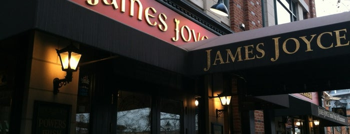 James Joyce Irish Pub is one of Food in MD.