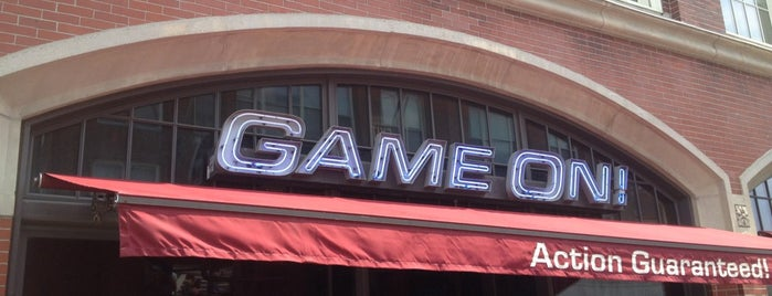 Game On! is one of Boston Bars.
