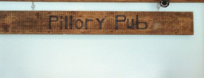 The Pillory Pub is one of Tempat yang Disukai Chelsea.