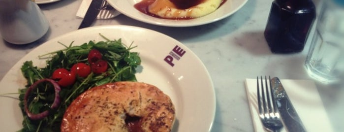 The Battersea Pie Station is one of Pies.