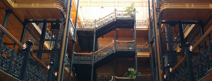 Bradbury Building is one of Lieux qui ont plu à Michelle.