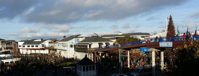 Pier 39 Marina is one of Lugares favoritos de Michelle.