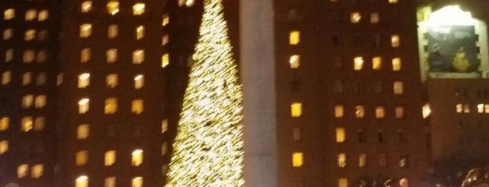 Union Square is one of Lieux qui ont plu à Michelle.