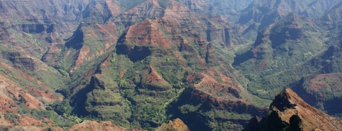 Waimea Canyon & Koke'e State Park is one of Michelle 님이 좋아한 장소.