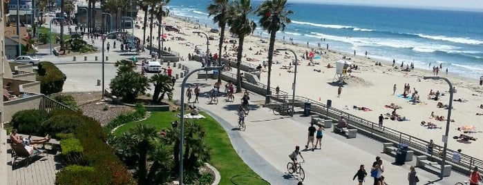Pacific Beach Boardwalk is one of San Diego.
