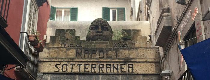 Napoli Sotterranea is one of Tempat yang Disukai Sabrina.