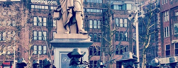 Rembrandtplein is one of Amsterdam..