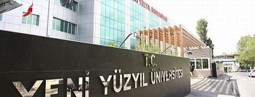 Yeni Yüzyıl Üniversitesi is one of Güngören.
