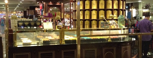 TWG Tea Salon & Boutique is one of Recommended.
