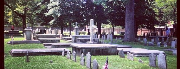 Christ Church Burial Ground is one of Historic America.
