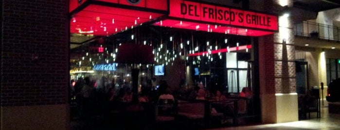 Del Frisco's Grille is one of HOU via John Dwan.