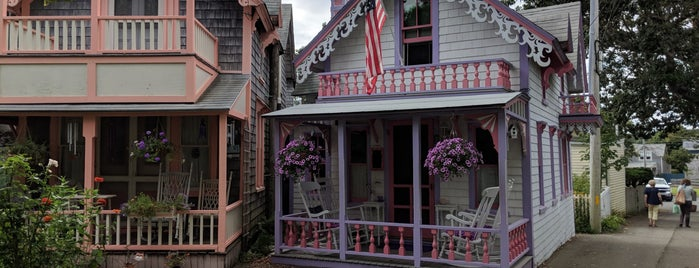 Martha's Vineyard Camp Meeting Association Cottages is one of Tempat yang Disukai KATIE.