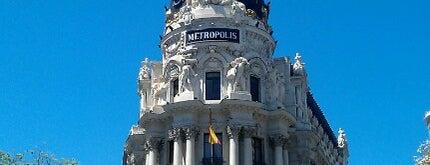 Edificio Metrópolis is one of Madrid_2014.