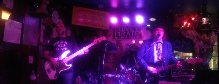Funky Pirate is one of OffBeat's favorite New Orleans music venues.