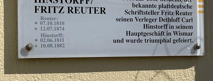 Reuterhaus is one of Wismar🇩🇪.