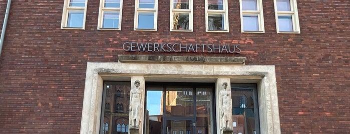 Gewerkschaftshaus is one of Stralsund🇩🇪.