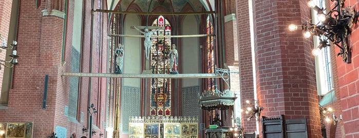 Kloster zum Heiligen Kreuz is one of Rostock & Warnemünde🇩🇪.