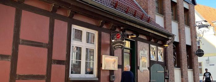 Torschließerhaus is one of Stralsund🇩🇪.