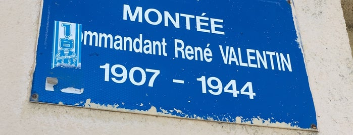 Montée Commandant René Valentin is one of Marseille Sud.