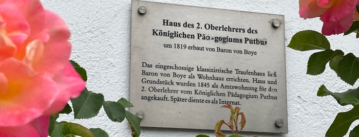 Touristinformation is one of Putbus🇩🇪.