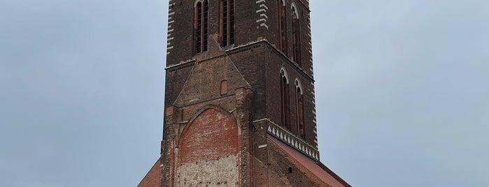 St. Marienkirche is one of Wismar🇩🇪.