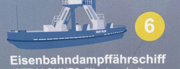 Eisenbahnfährschiff Stralsund is one of Wolgast🇩🇪.