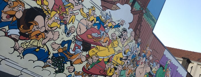 Mural Art - Asterix is one of BE 2017.