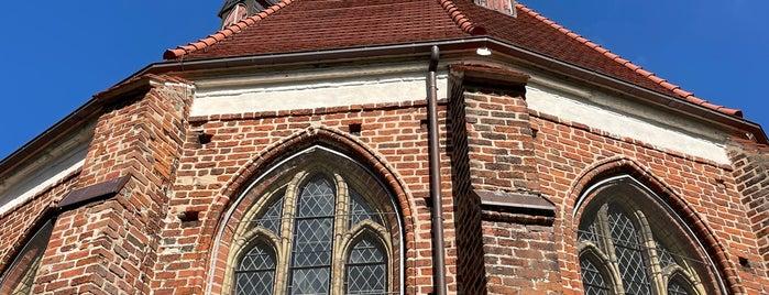 Kapelle St. Gertrud is one of Wolgast🇩🇪.