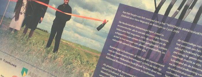 Nationaal Binnenvaartmonument is one of Noordoostpolder.
