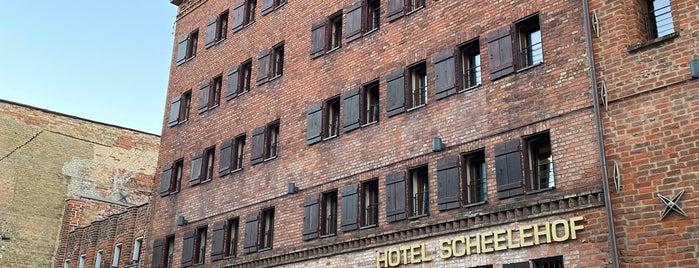 Romantik Hotel Scheelehof is one of Stralsund🇩🇪.