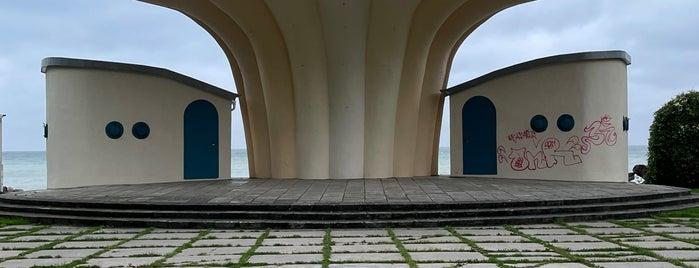 Musikpavillon Kurmuschel is one of Oostzeekust 🇩🇪.