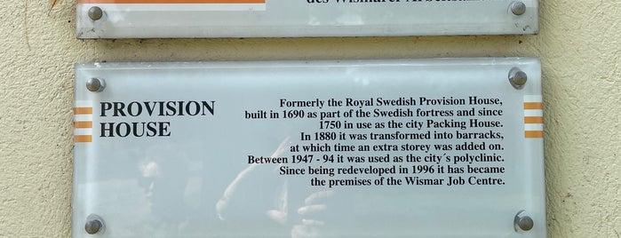 Schwedisches Provianthaus is one of Wismar🇩🇪.