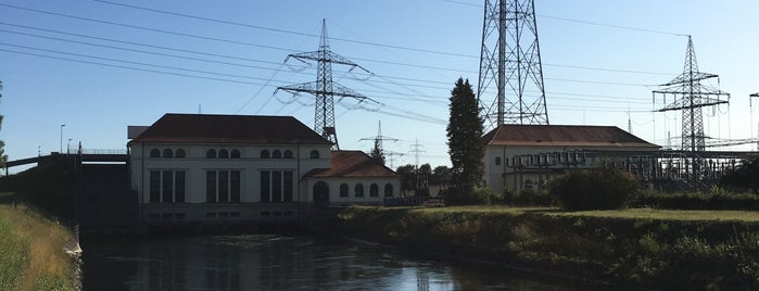 Kraftwerk in Meitingen is one of Augsburg.
