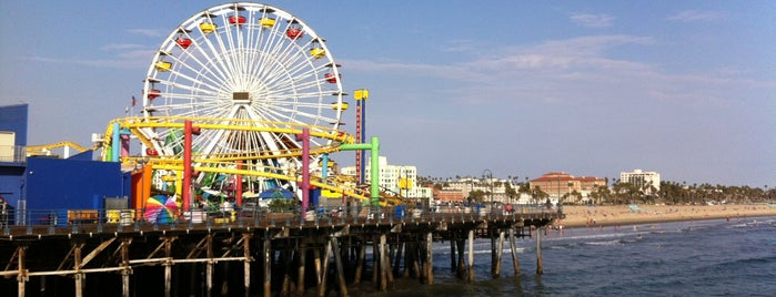 Santa Monica Pier is one of Historic Route 66.