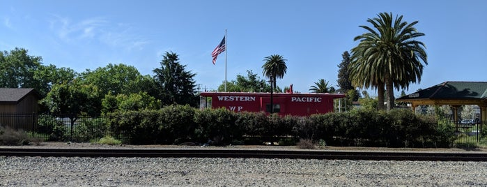 Niles Canyon Railway Boarding Platform is one of Bay Area Exploration Ideas.
