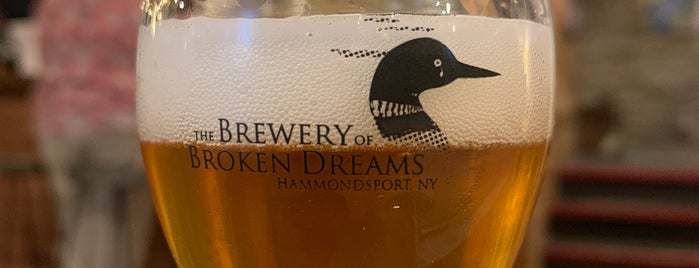 The Brewery of Broken Dreams is one of Upstate.